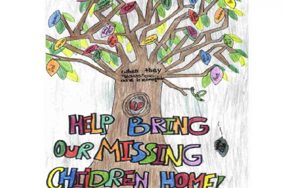 2020 Missing Children's Day Poster Contest Winner