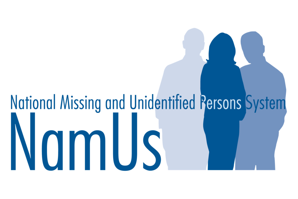 National Missing and Unidentified Persons System Logo